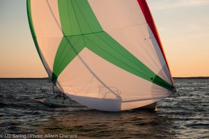 Second annual Annapolis Yacht Club Double Handed Distance Race, supporting newest prospective Olympic class for Paris 2024.