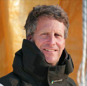 Stan Honey, navigator onboard ABN AMRO ONE